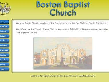 Church Website Full Design, Build & Maintenace