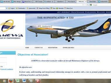 Website of Aviation Industry