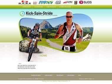 Kick-Spin-Stride