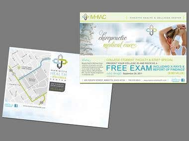 MHWC Direct Mail Piece