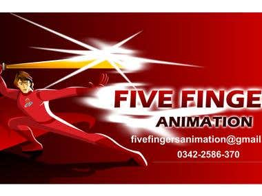 Fivefingers animation