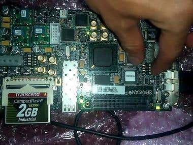 Plate License Number Recognition System on FPGA Spartan 6