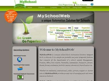 MySchoolWeb