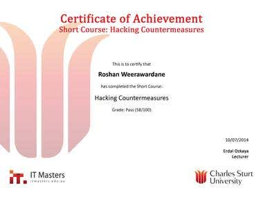 Hacking countermeasures short course