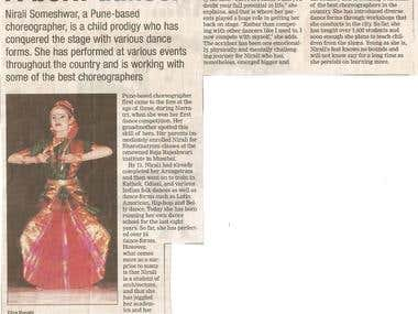 News Article- Pune Times