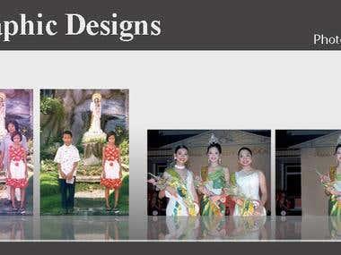 Photo Editing & Restoration..