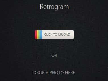 Retrogram App