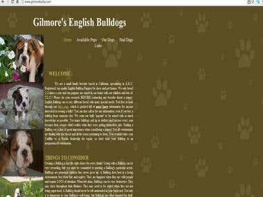 Gilmore Bullys Intuit Website