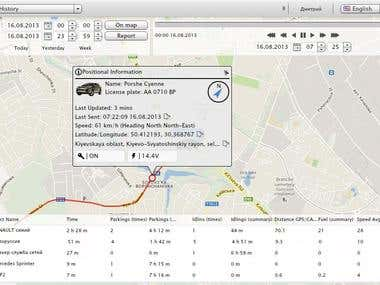 Flex 4.6 realtime geolocation system