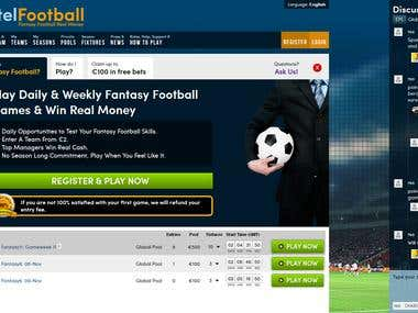 Fantasy Football Manager - Real Money Betting