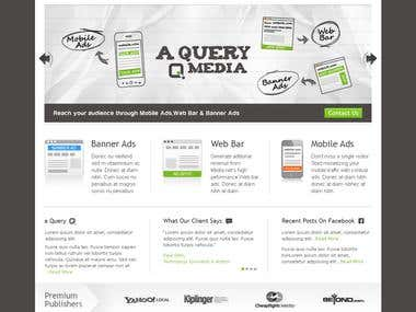 A QUERY CONTEST DESIGN ( WEB DESIGN )