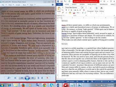 PDF book to Microsoft Word