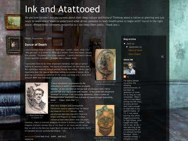 Ink and Atattooed blog