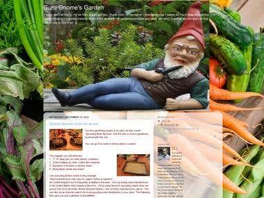Guru Gnome's Garden Blog