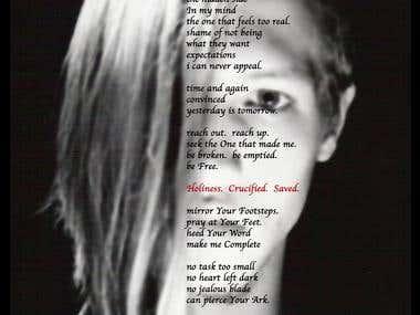 Hidden Side (Mixed Media Poetry)