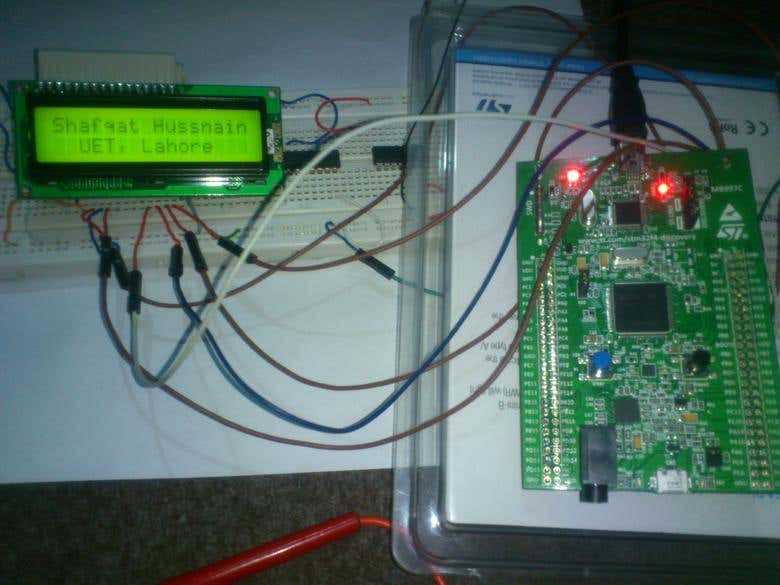 LCD Interfacing with STM32F4 Discovery | Freelancer