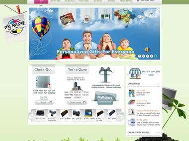 shopping site in Joomla