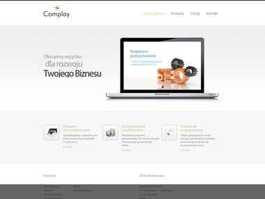 Strona firmowa