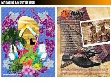 Layout Design/ Print Materials