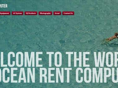 Website Of Ocean Rent Computer