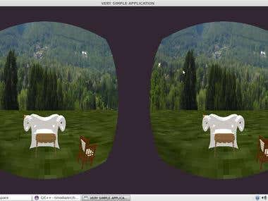 3D Virtual in Linux with distortion
