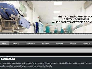 Website of SI Surgical