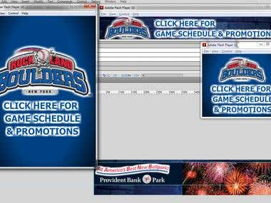 Animated flash banner - Rockland Boulders NY