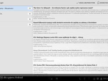 Czytnik RSS