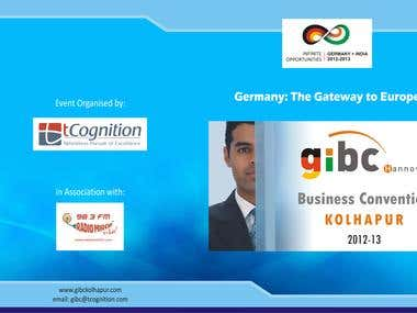 Invitation Card - GIBC Business Convention