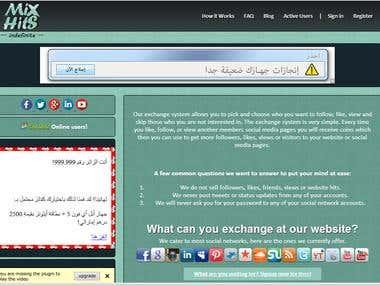 MixHits exchange system
