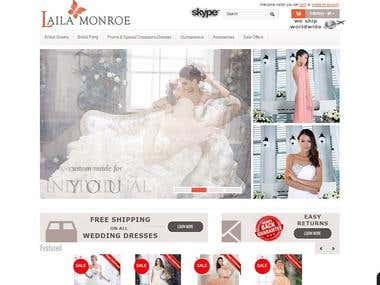 Lailamonroe Online Shopping Website