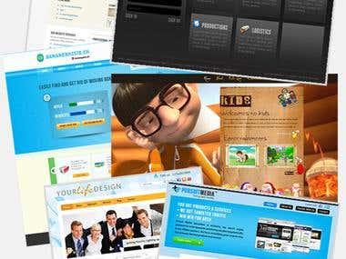 Web layout design