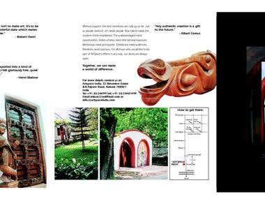 'Artspace' Brochure and Website
