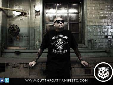 Cutthroat Manifesto Clothing Flyer