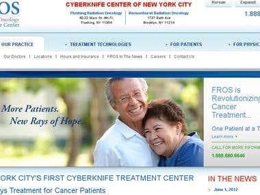 FROS Radiation Oncology Cyberknife Center