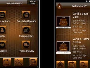 Restaurant App(Online tracking)