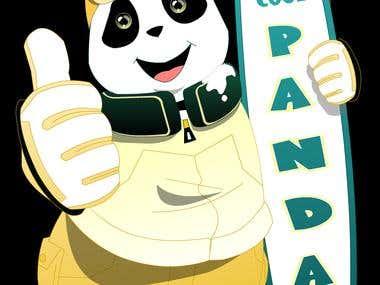 Panda Mascot Concept 1 and 2