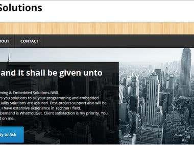 iWillSolutions Website