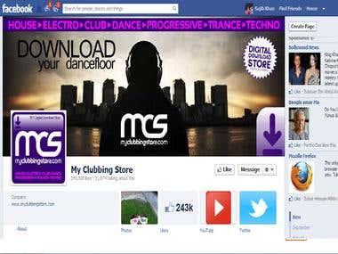 Fan page Facebook Like