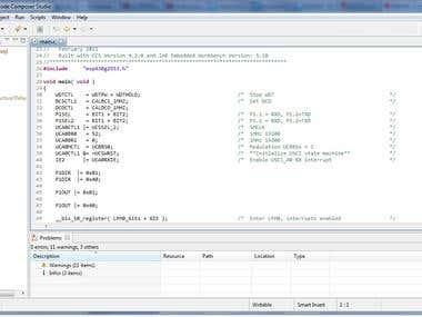 TI MSP430 controller Programming