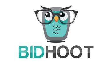 Logo design for Bidhoot