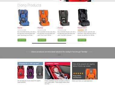 Diono website
