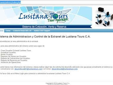 Quotation System, Reservation and Sales for Travel Agency