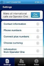 OperatorOne Android Application
