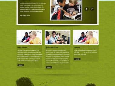 ARV SCHOOL ( WORDPRESS )