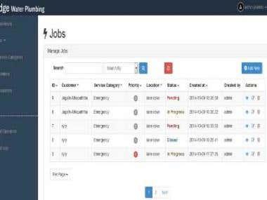 Worker Management Web Application
