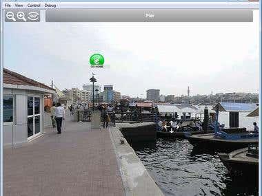 3D 360 panorama