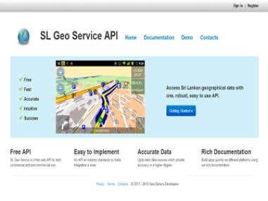 SL Geo Service API