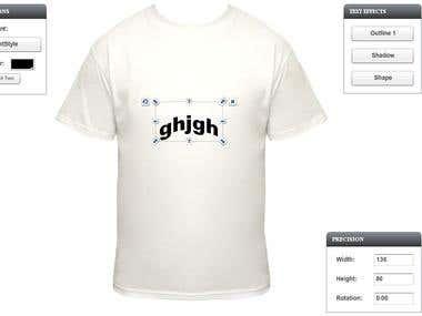 Tshirt Application