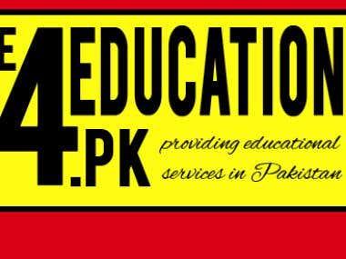 E4EDUCATION.PK LOGO